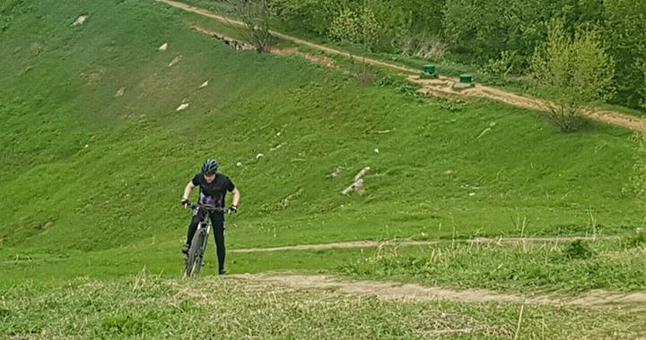 Аренда велосипеда около реки Городня