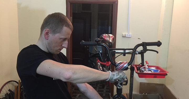 Обслуживание велосипедов ЮАО