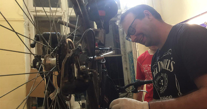 Замена цепи велосипеда (3)