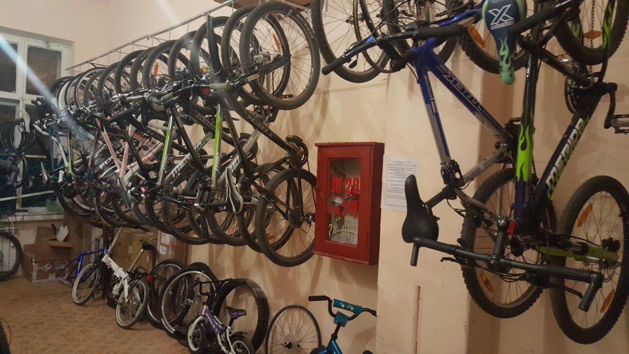 Услуги хранения велосипедов (2)