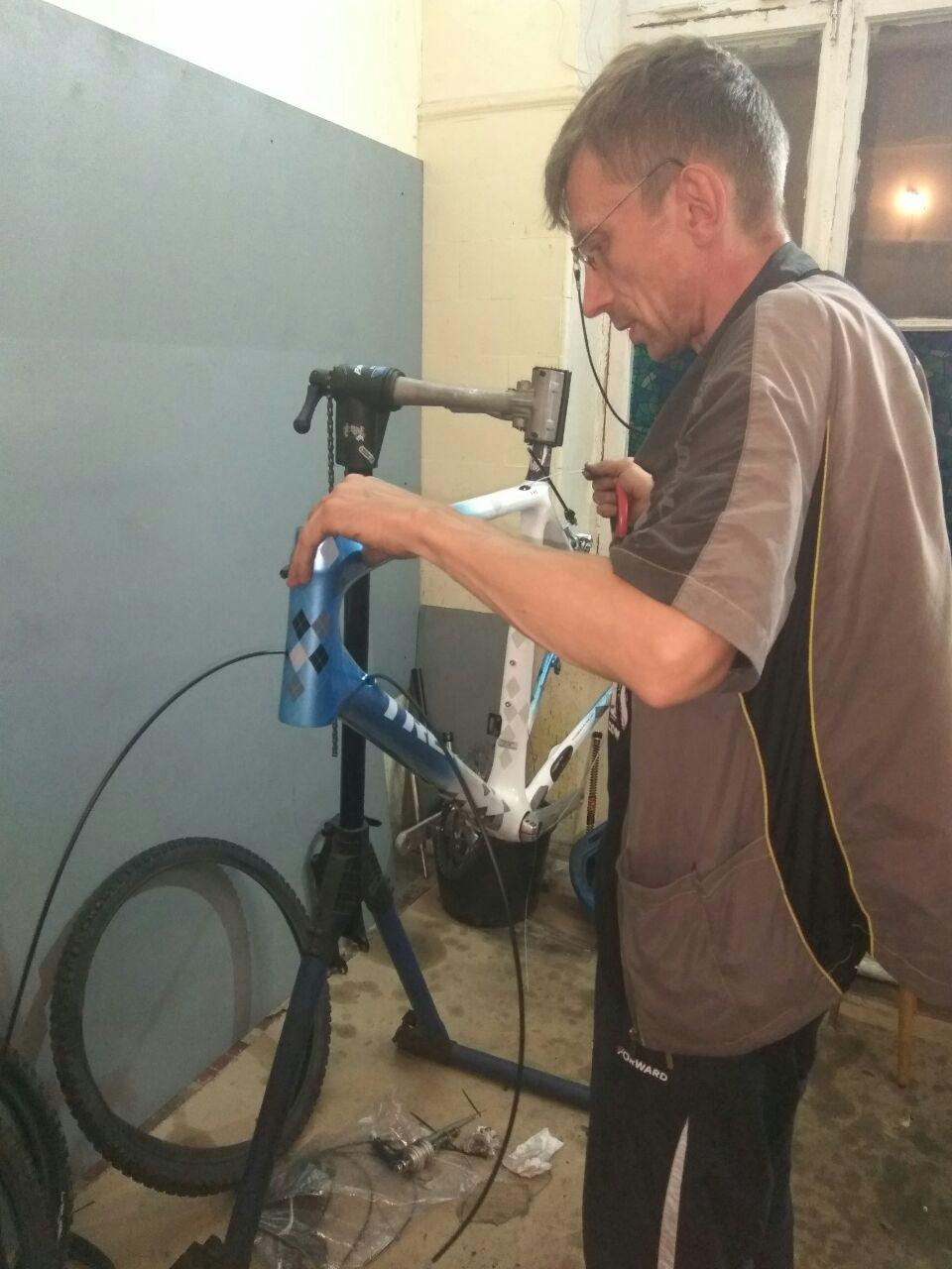 Подготовка велосипеда (1)