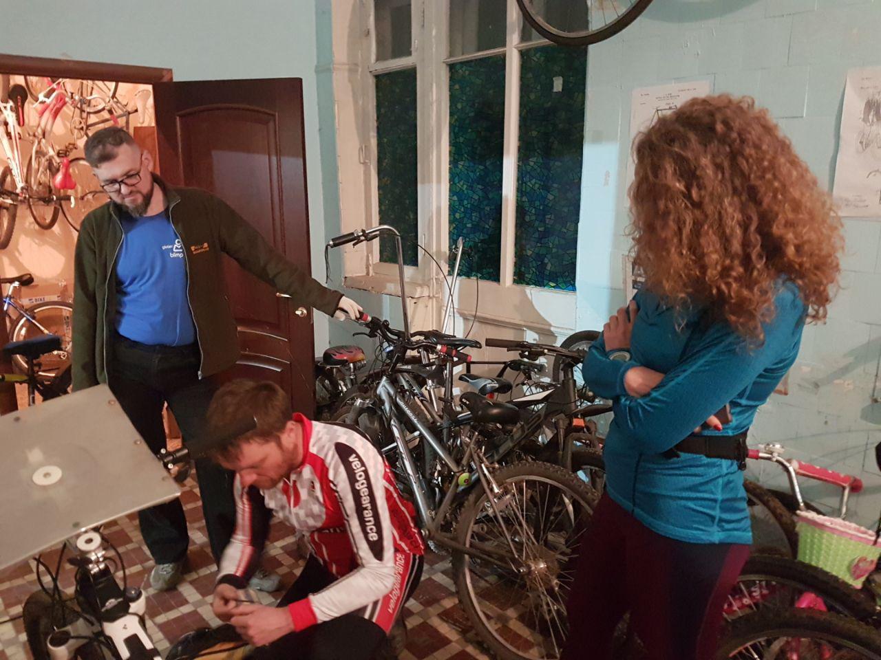 Подготовка велосипеда (2)