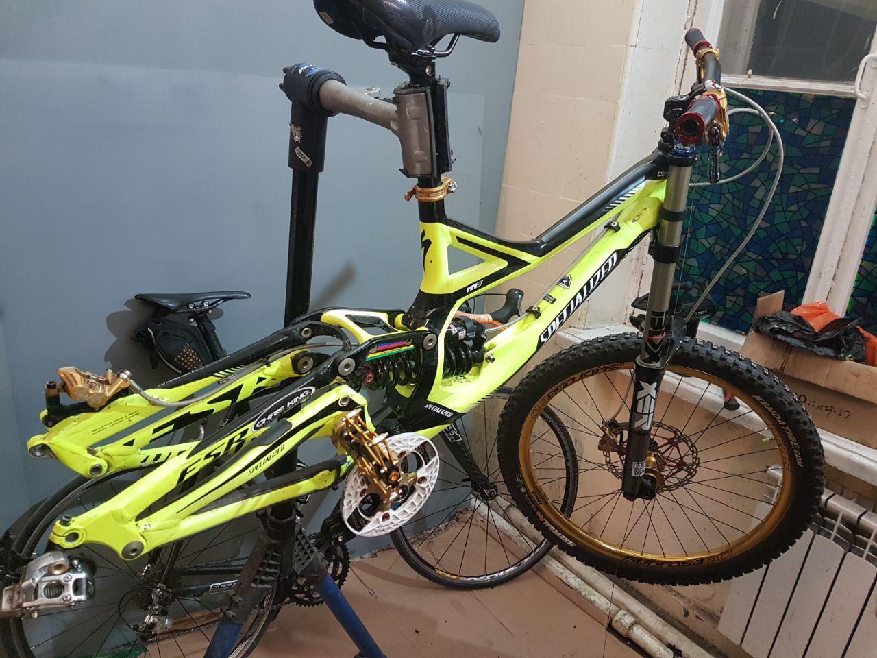 Ремонт горных велосипедов (1)