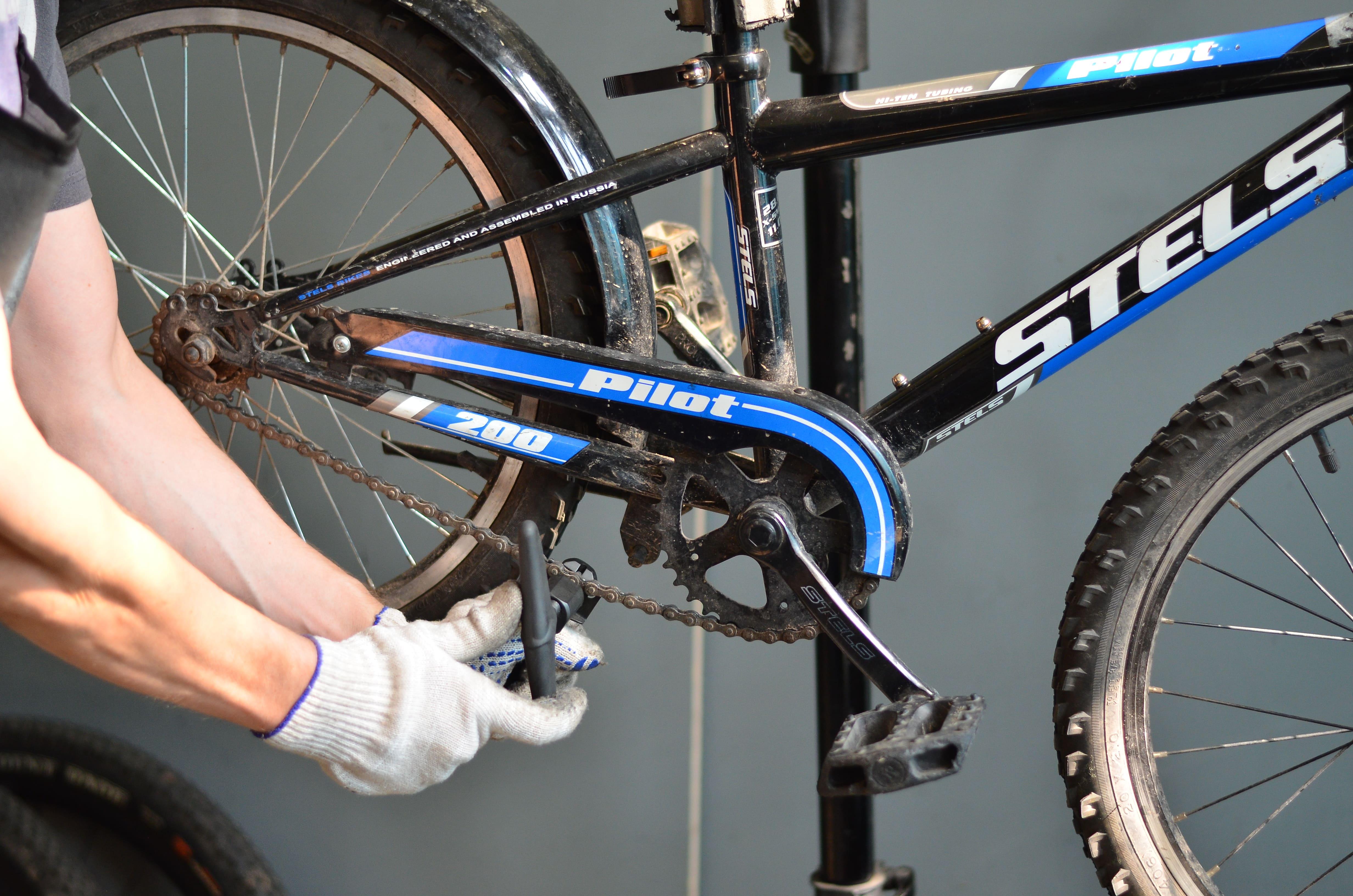 Ремонт детских велосипедов (3)