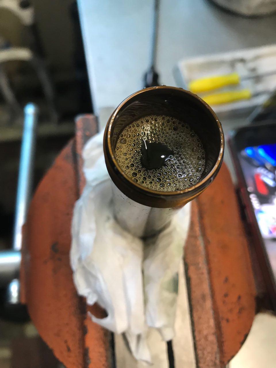 Ремонт заднего амортизатора на велосипеде (2)