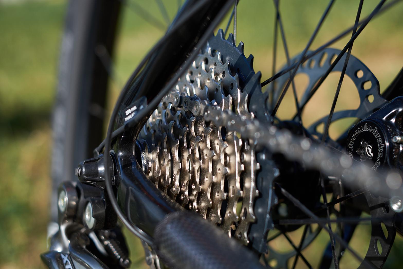 Ремонт цепи велосипеда и натяжителя цепи (3)